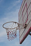 Net for basketball Royalty Free Stock Photos