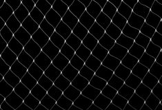 Net on black Royalty Free Stock Photography