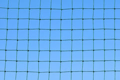 Net with blue sky Stock Image