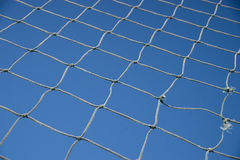 Net on blue sky Royalty Free Stock Photos