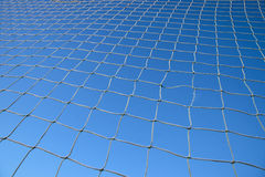 Net on blue sky Stock Images