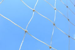 Net on the blue sky background Stock Image