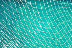 Net of blue water Stock Image