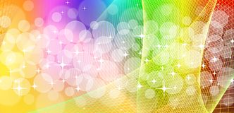 Net bokeh background Royalty Free Stock Photos