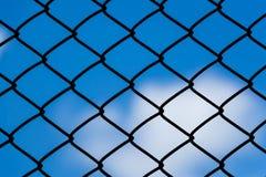 Net bule sky Stock Image