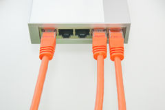 Net cables Royalty Free Stock Image