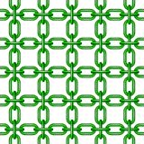 Net of chain in green design Royalty Free Stock Photo