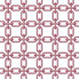 Net of chain in pink design Royalty Free Stock Images