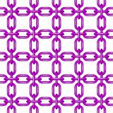 Net of chain in purple design Stock Photography