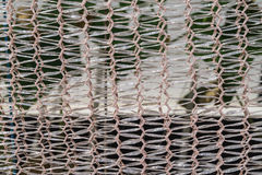 Net close up. For background outdoors white Stock Photography