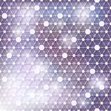 Net colorful blurred background Stock Photography