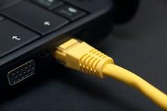Net conexion Stock Photo