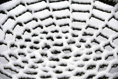 Snow net Royalty Free Stock Image