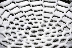 Snow net Royalty Free Stock Image