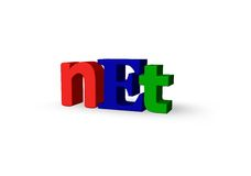 Net domain Royalty Free Stock Images