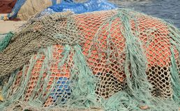 Net for fishing Royalty Free Stock Photography