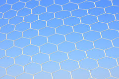 Net of football abstract texture Royalty Free Stock Photo