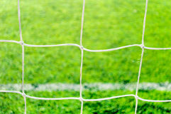 Net football and soccer Royalty Free Stock Image