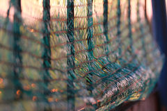 The Net in front of sunset royalty free stock images