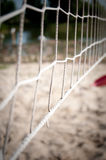 Net for game to beach ball Stock Photography