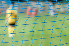 Net of the goal Stock Photography