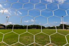 Net goal. Stock Images