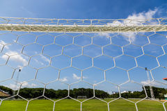 Net goal. Royalty Free Stock Images
