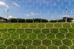 Net goal. Stock Image