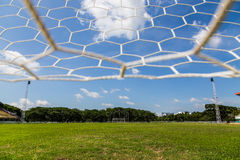 Net goal. Royalty Free Stock Photo