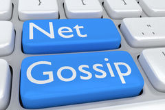 Net Gossip concept Stock Photos