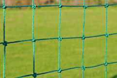 Net with green grass Royalty Free Stock Image