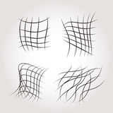 Net Grids Mysterious Line Structures Royalty Free Stock Photography