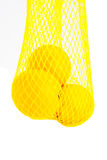 Net of lemons Royalty Free Stock Photo