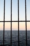 Net over the atlantic ocean Royalty Free Stock Photos