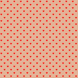 Net pattern with hearts Royalty Free Stock Photos