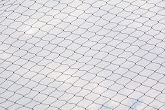 Net pattern. Rope net silhouette. Soccer and football net patter Royalty Free Stock Photography