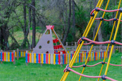 Net playground Royalty Free Stock Photo