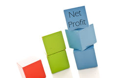 Net Profits Stock Photo