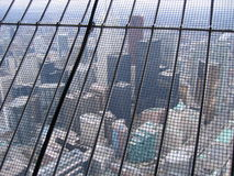 The net protection of the CN Tower Royalty Free Stock Photos