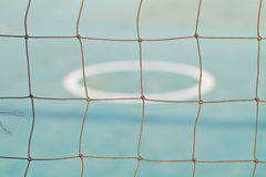 Net in rattan court Stock Images