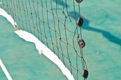 Net in rattan court Stock Image