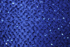 Net Shawl with Square Sequins Stock Image
