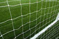 Net soccer Royalty Free Stock Image