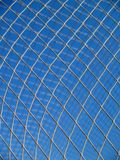 Net in a soccer goal Stock Photography