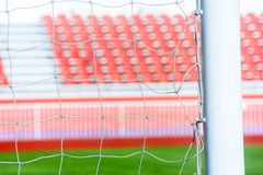 Net soccer goal football Stock Photo