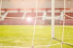 Net soccer goal football Royalty Free Stock Image