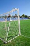 Net soccer goal Stock Image