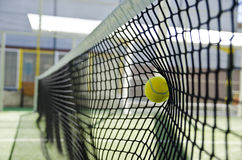 Net stop the shot. Stock Images