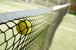 Net stop the shot. Royalty Free Stock Images