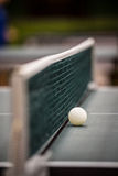Net in table tennis Stock Image